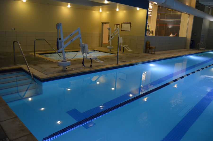 Fitness Center - Commercial Swimming Pool Projects - New Wave
