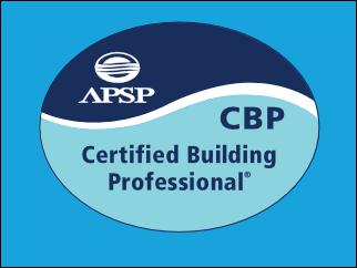 APSP Certified Building Professional - Austin Texas Commercial pool builders